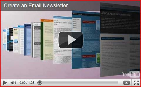 click on how to create An Email Newsletter to enlarge