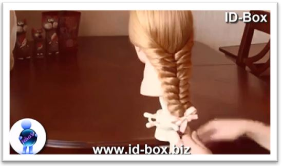 Tip and trick how to make a beautiful braid