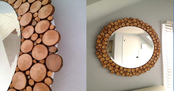 DIY Decorating Tip How relook A Mirror